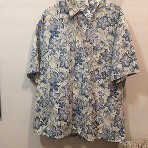 Men's Hawaiian shirt Pierre Cardin sz XL